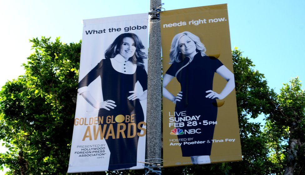 Posters showing Tina Fey and Amy Poehler
