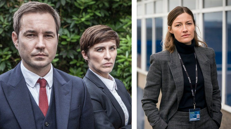 Martin Compston, Vicky McClure and Kelly Macdonald