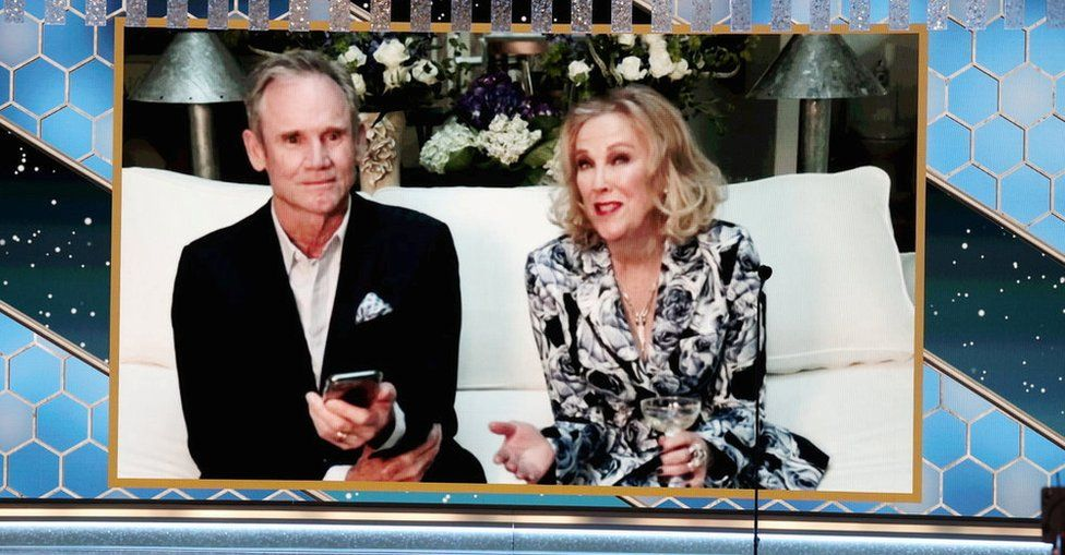 Catherine O'Hara and her husband Bo Welch