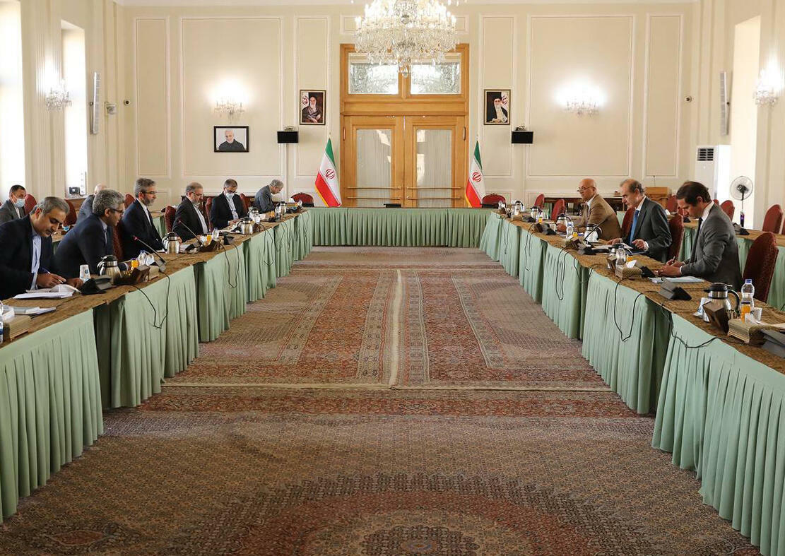 The EU envoy is visiting Iran with mounting pressure from European countries, as well as from the US administration, for a swift resumption of negotiations on a US return to the 2015 nuclear deal